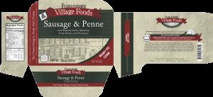 1lb 91862 - FVF 1Lb Sausage & Penne