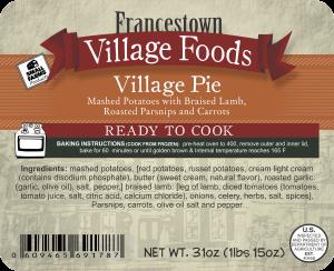 2lb 91787 - FVF -2lbs Village Pie