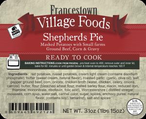 2lb 92128 - FVF -2lbs Shep Pie