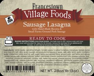 2lb 92142 - FVF -2lbs Sausage Las