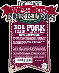 B 92104 - FVF - Burrito Pork