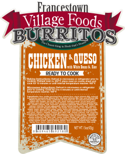 B 92180 - FVF - Burrito Chx